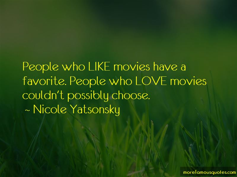 Nicole Yatsonsky Quotes