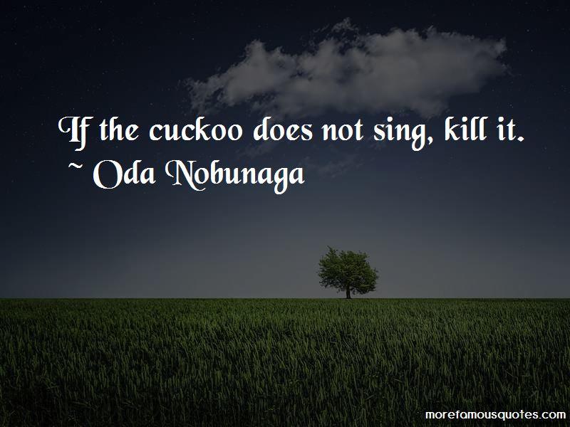 Oda Nobunaga Quotes