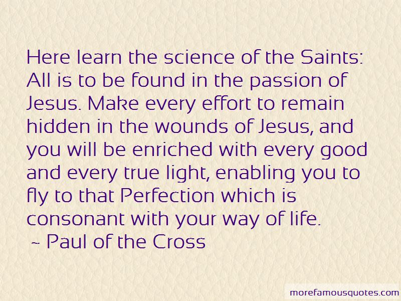 Paul Of The Cross Quotes Pictures 2