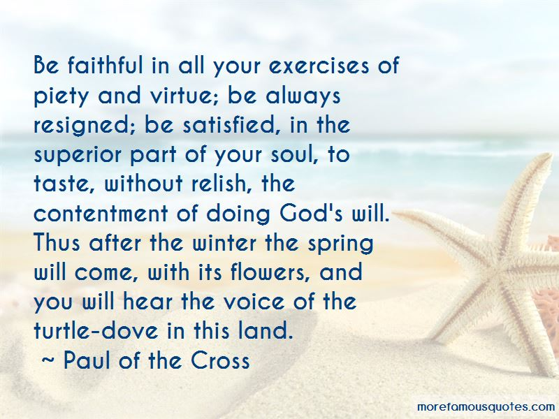 Paul Of The Cross Quotes Pictures 3
