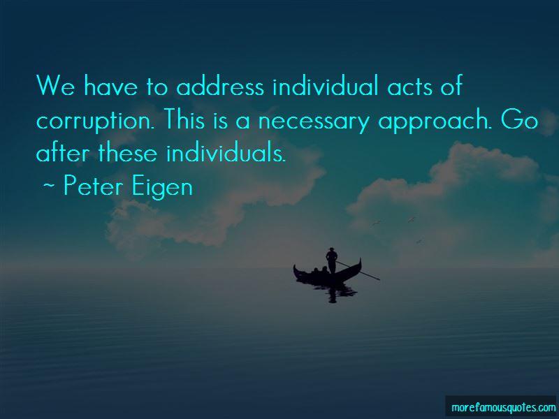 Peter Eigen Quotes