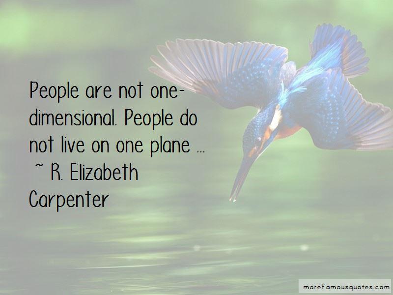 R. Elizabeth Carpenter Quotes
