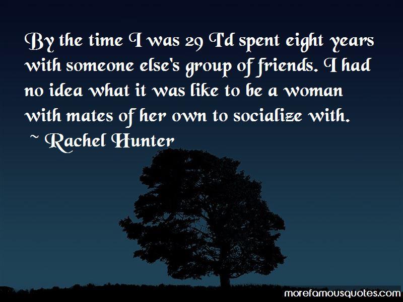 Rachel Hunter Quotes Pictures 2