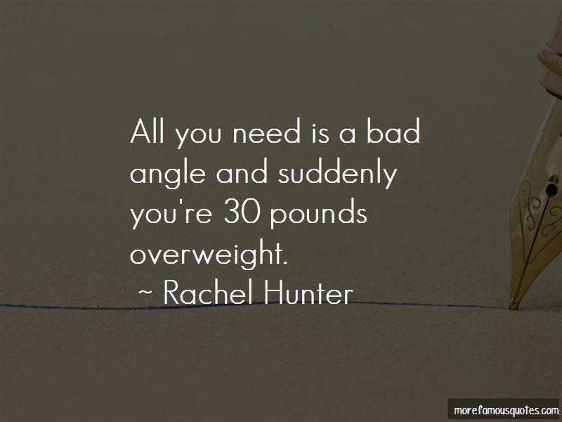 Rachel Hunter Quotes Pictures 4