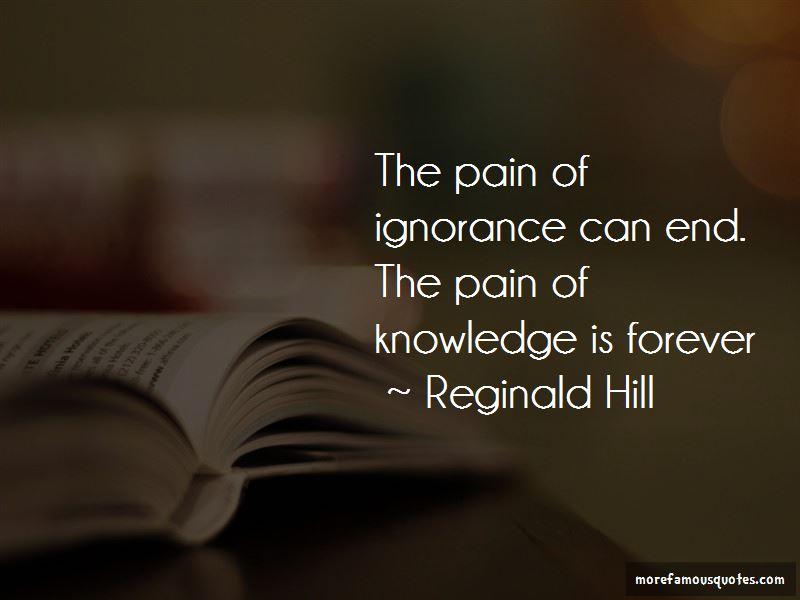 Reginald Hill Quotes Pictures 3