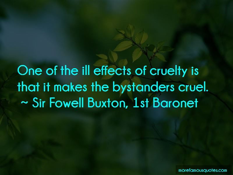 Sir Fowell Buxton, 1st Baronet Quotes Pictures 3
