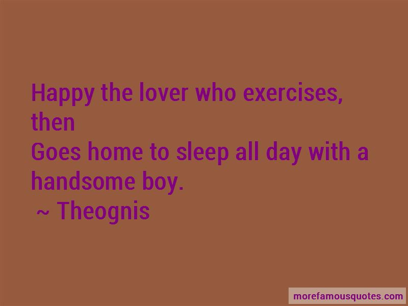 Theognis Quotes Pictures 2