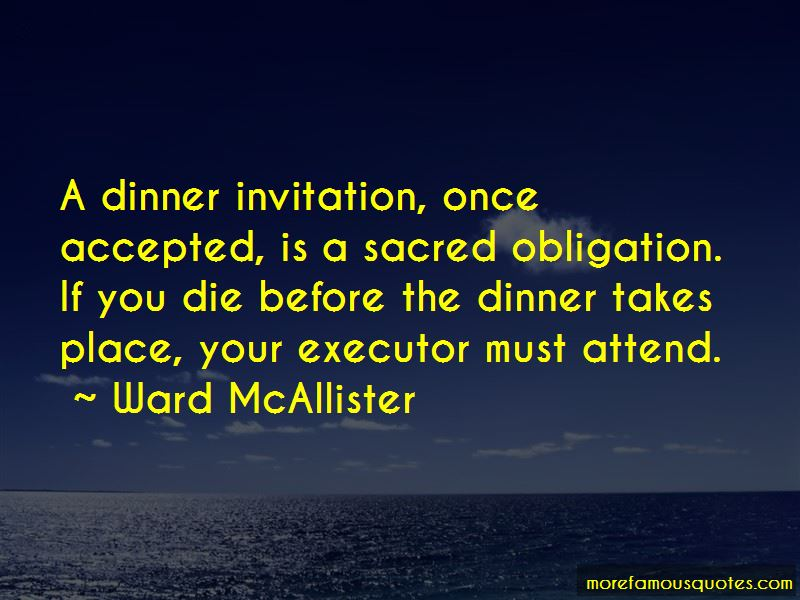 Ward McAllister Quotes Pictures 3