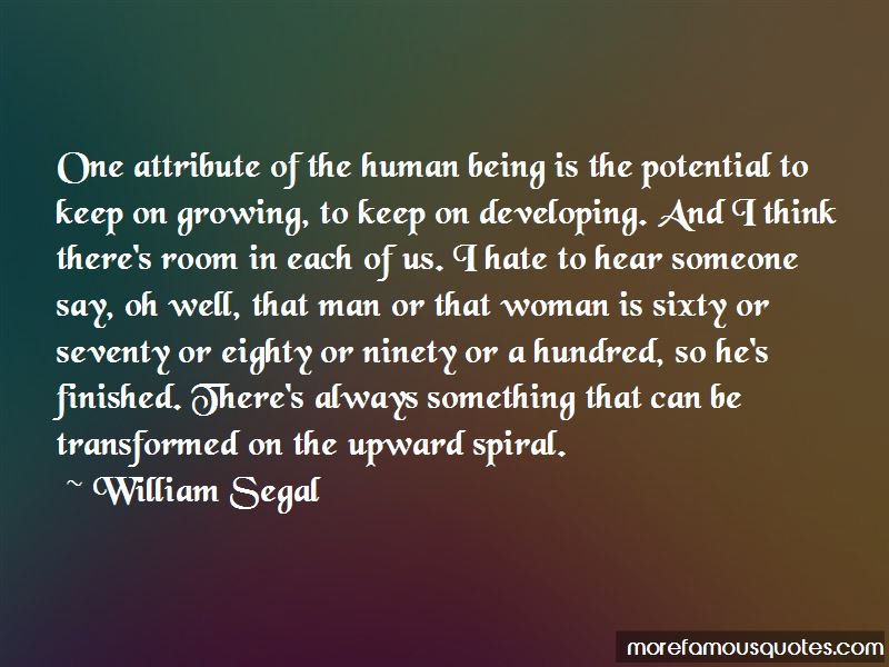 William Segal Quotes
