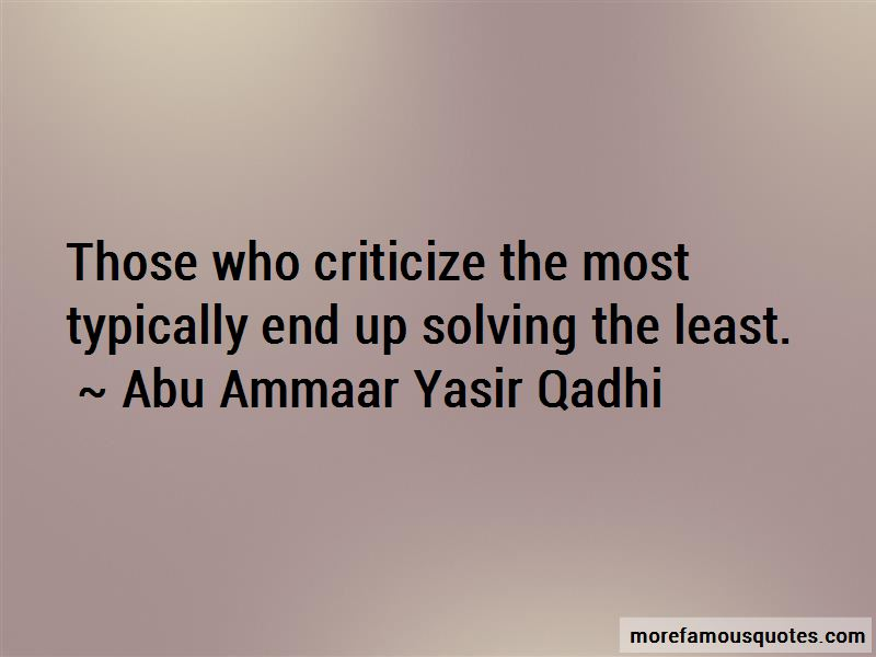 Abu Ammaar Yasir Qadhi Quotes Pictures 4