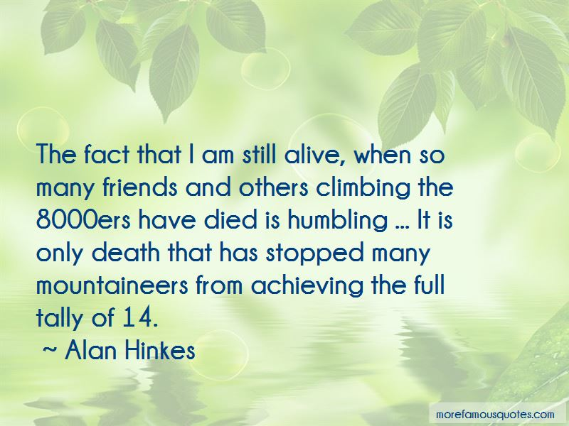 Alan Hinkes Quotes Pictures 2