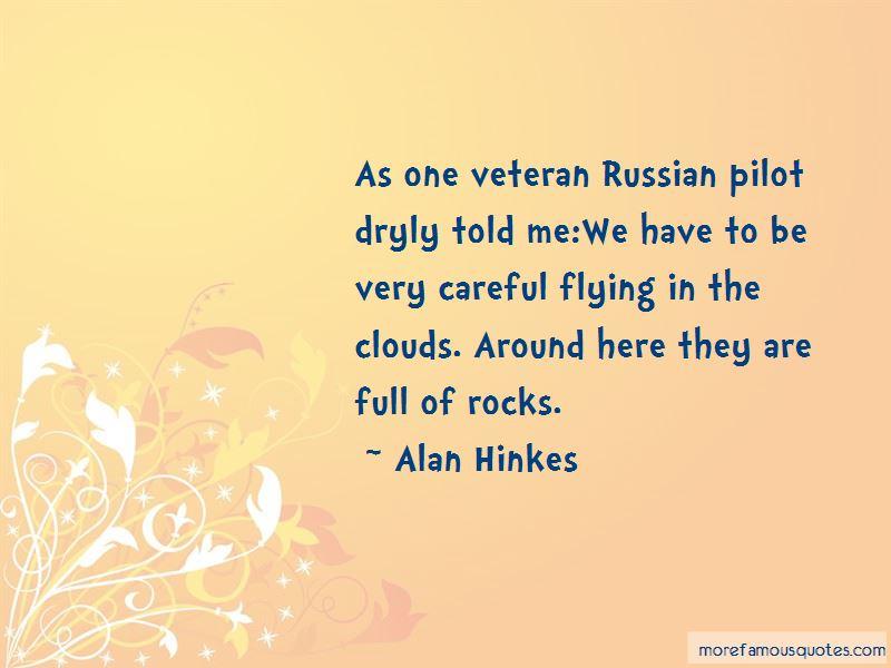 Alan Hinkes Quotes