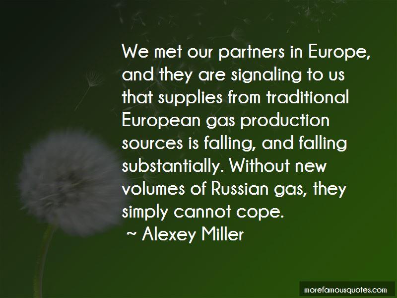 Alexey Miller Quotes