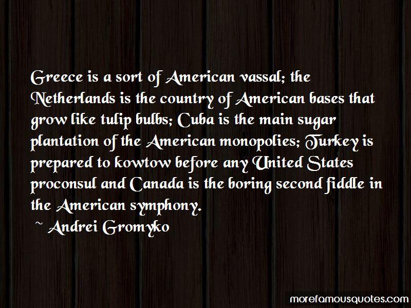 Andrei Gromyko Quotes