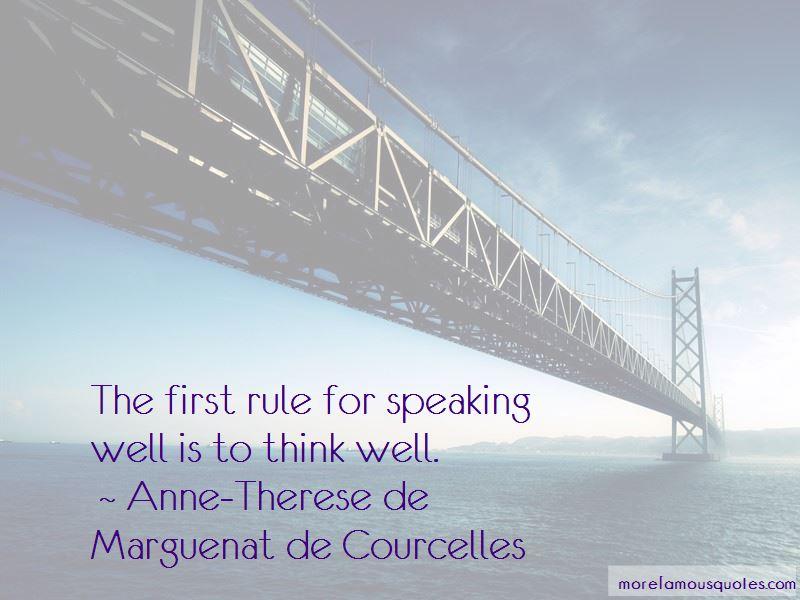 Anne-Therese De Marguenat De Courcelles Quotes Pictures 4
