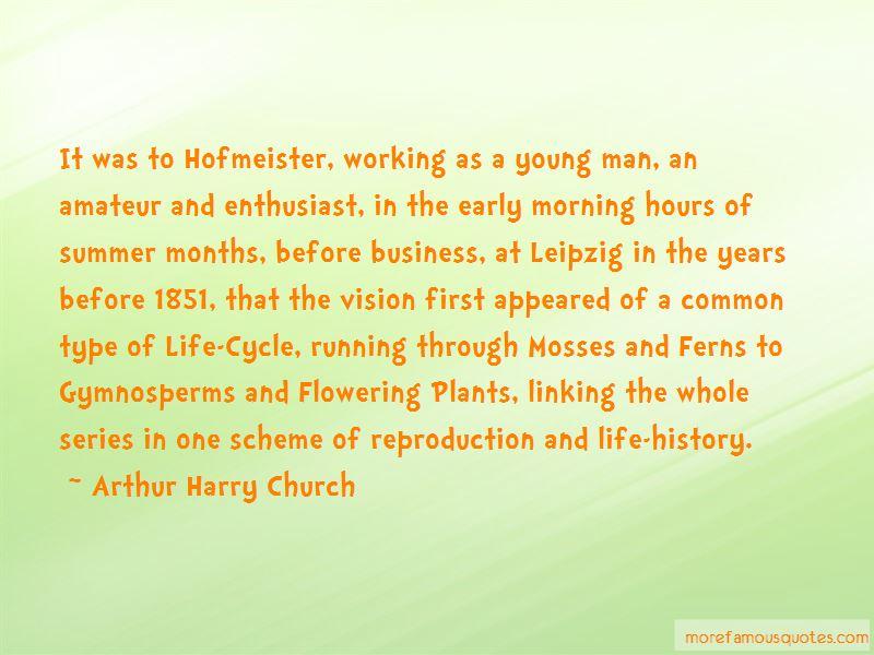 Arthur Harry Church Quotes