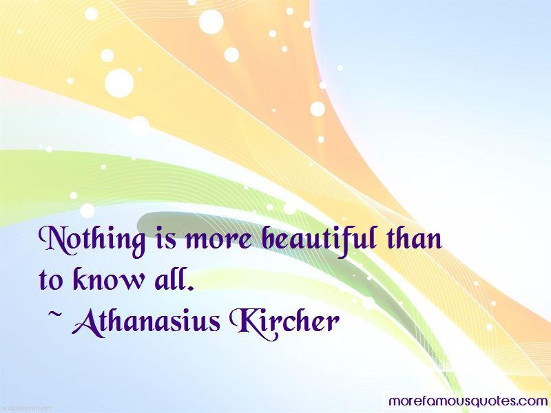 Athanasius Kircher Quotes