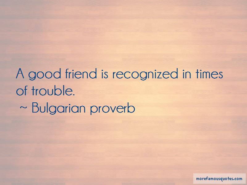 Bulgarian Proverb Quotes