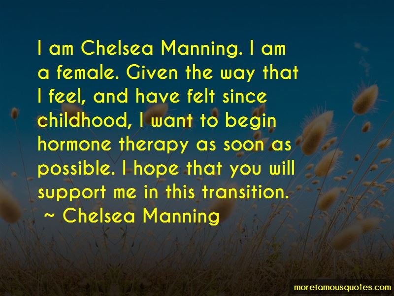 Chelsea Manning Quotes Pictures 4