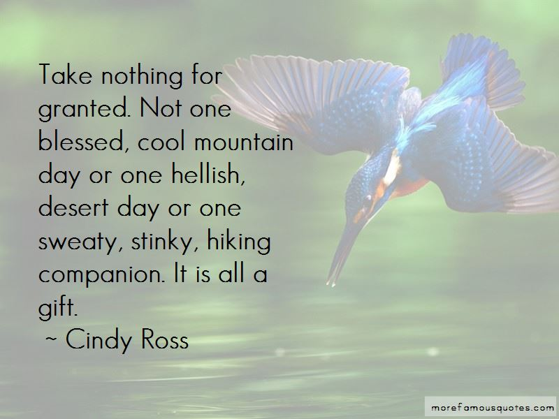 Cindy Ross Quotes Pictures 2
