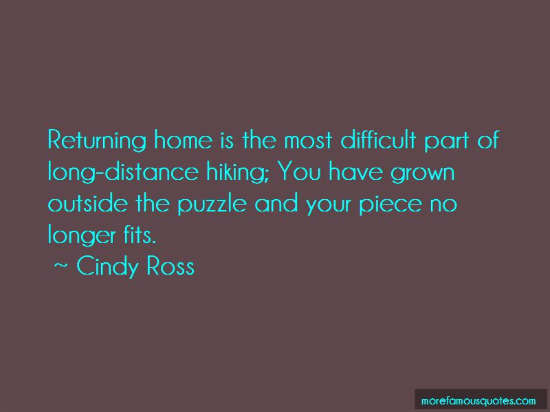 Cindy Ross Quotes