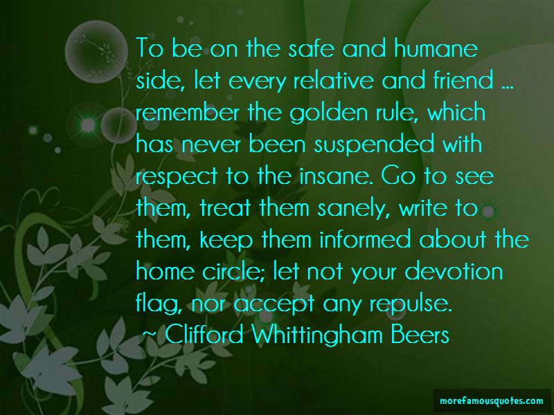 Clifford Whittingham Beers Quotes Pictures 2