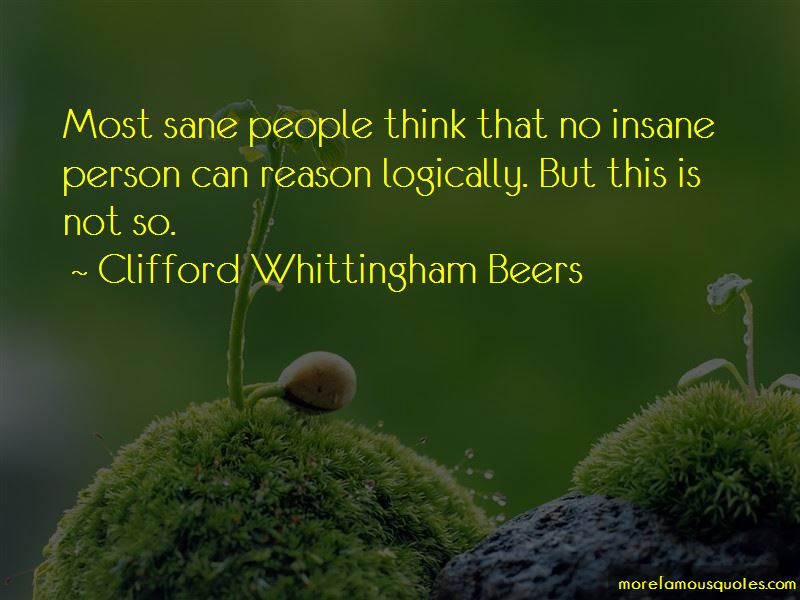 Clifford Whittingham Beers Quotes Pictures 3