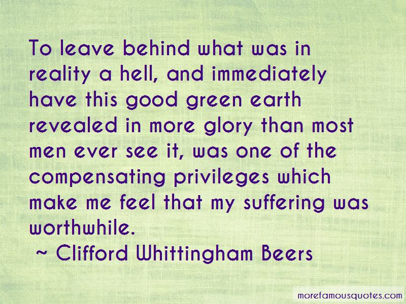 Clifford Whittingham Beers Quotes