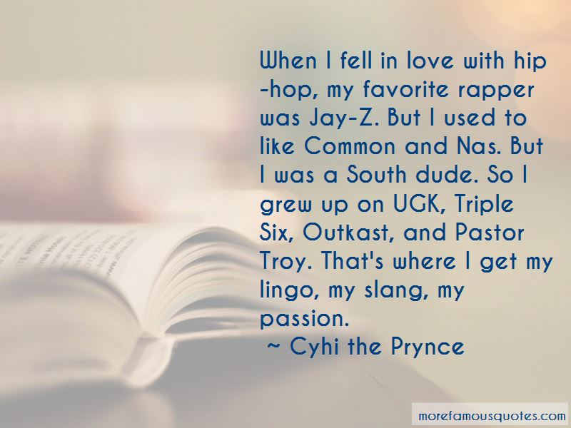Cyhi The Prynce Quotes