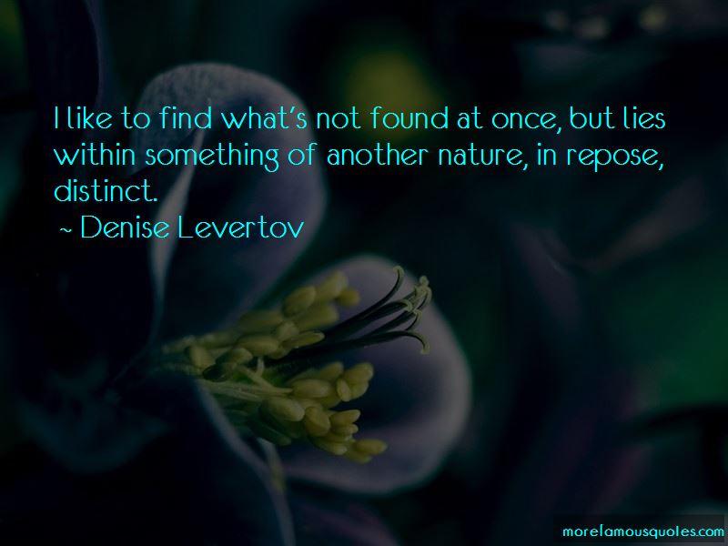 Denise Levertov Quotes