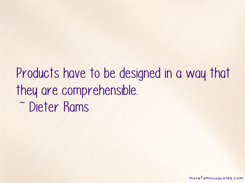 Dieter Rams Quotes Pictures 2