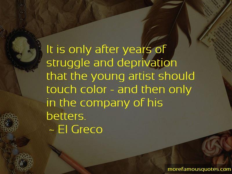 El Greco Quotes Pictures 2