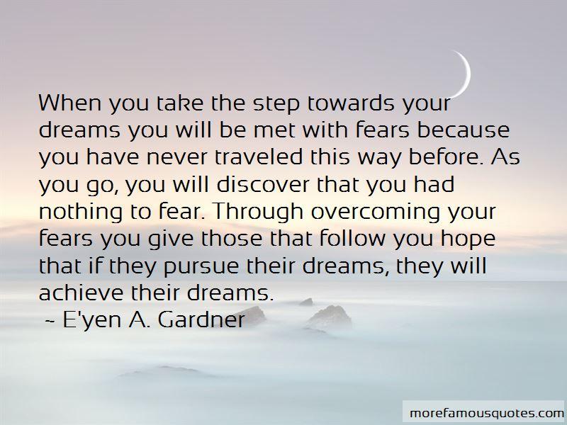 E'yen A. Gardner Quotes