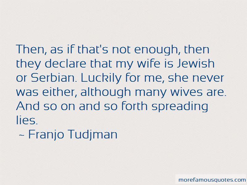 Franjo Tudjman Quotes Pictures 4