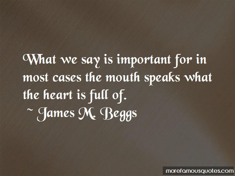 James M. Beggs Quotes