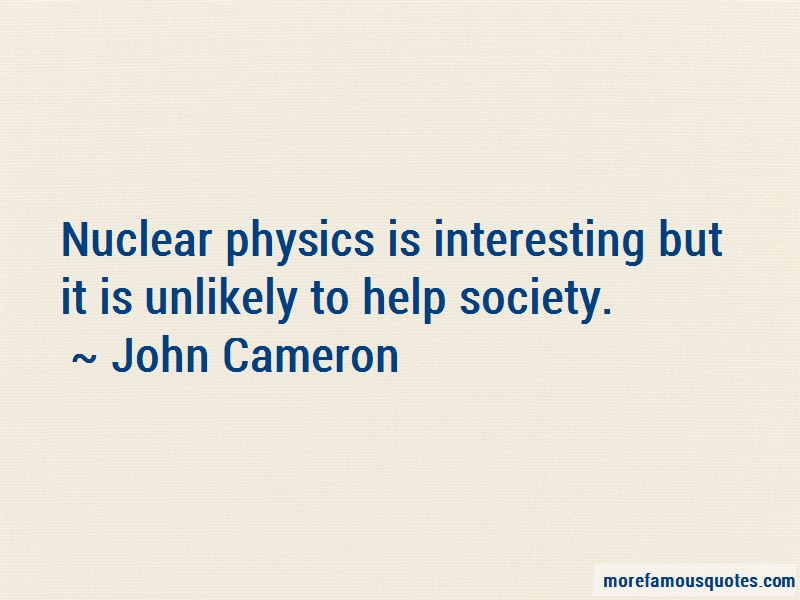 John Cameron Quotes Pictures 3
