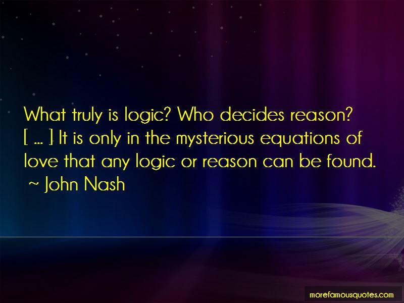 John Nash Quotes Pictures 2