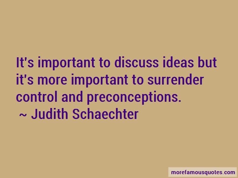Judith Schaechter Quotes