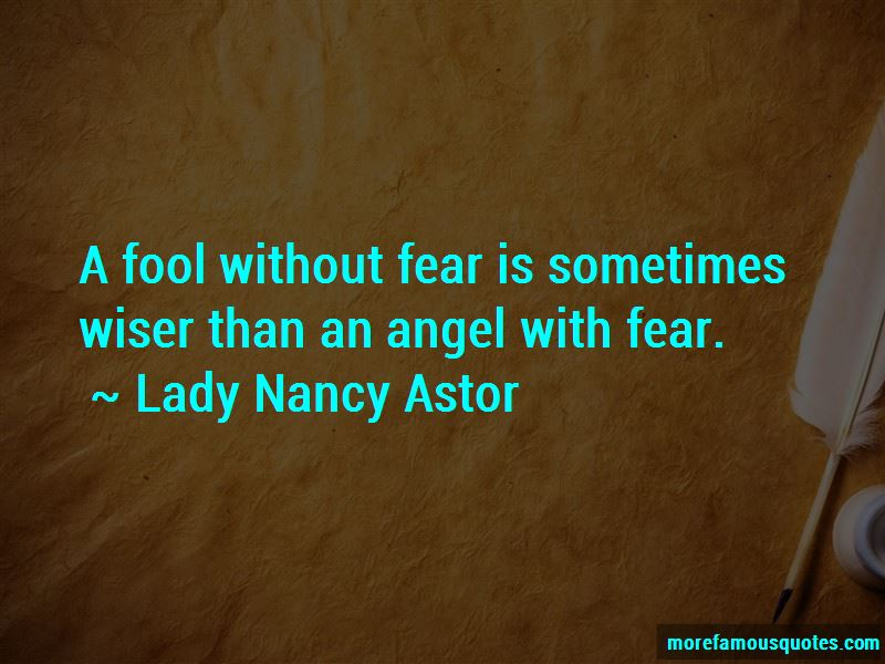 Lady Nancy Astor Quotes