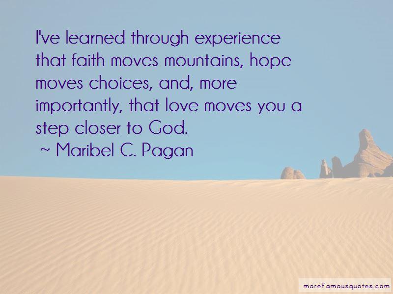 Maribel C. Pagan Quotes