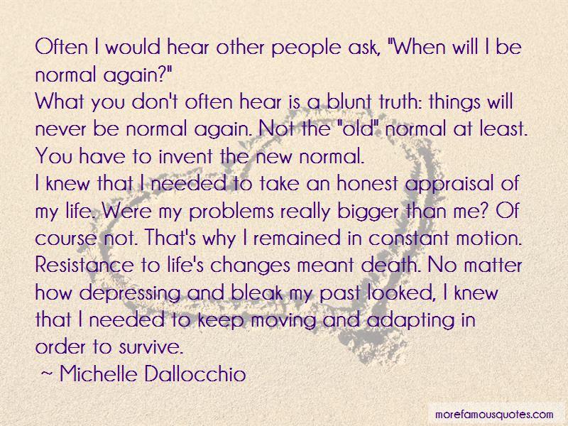 Michelle Dallocchio Quotes