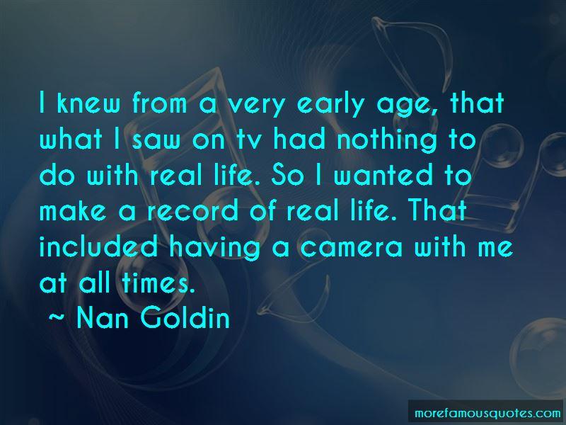 Nan Goldin Quotes Pictures 2