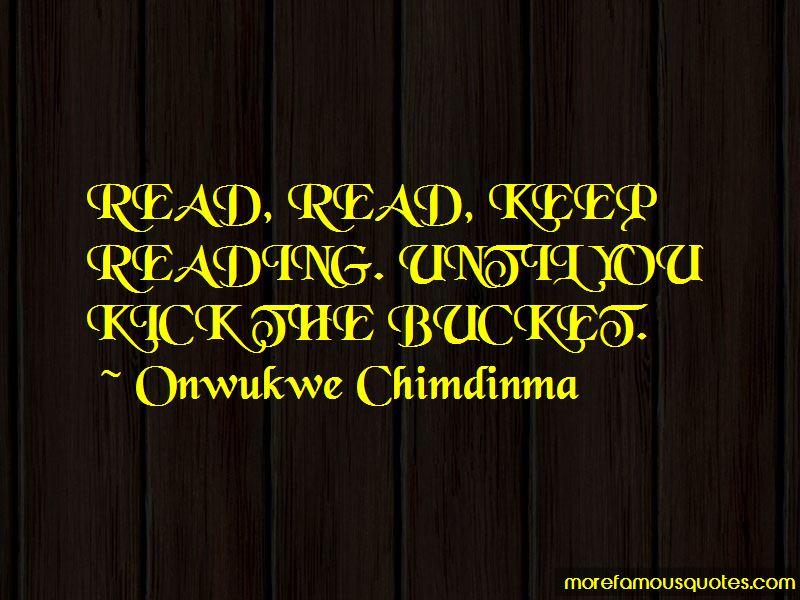 Onwukwe Chimdinma Quotes