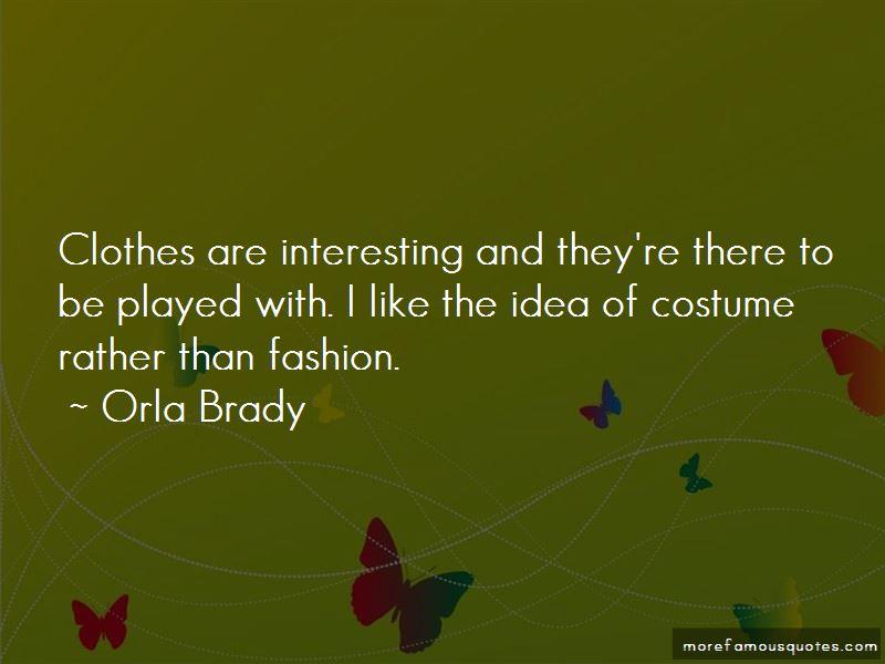 Orla Brady Quotes Pictures 2