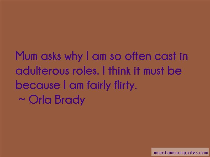 Orla Brady Quotes Pictures 4