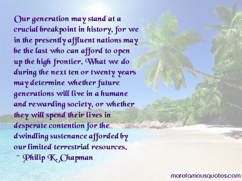 Philip K. Chapman Quotes