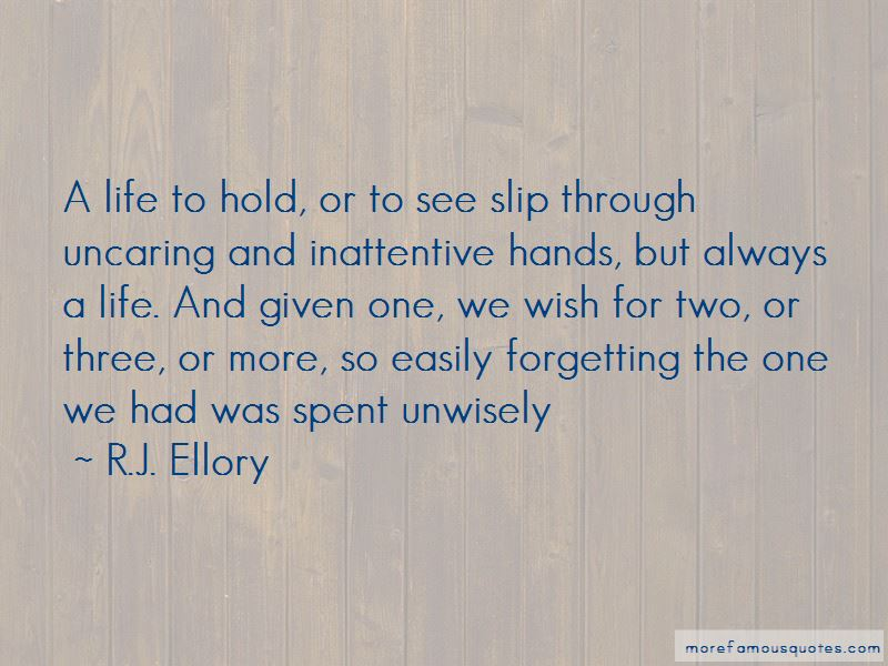 R.J. Ellory Quotes