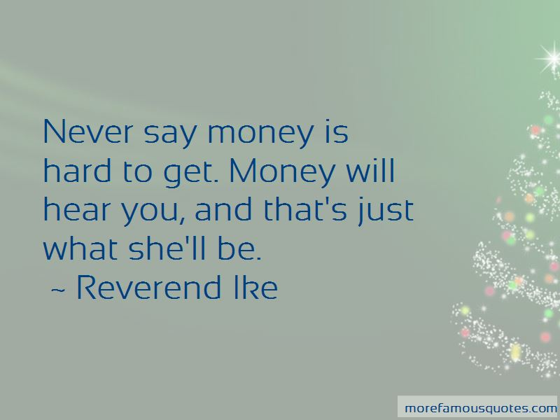 Reverend Ike Quotes Pictures 4