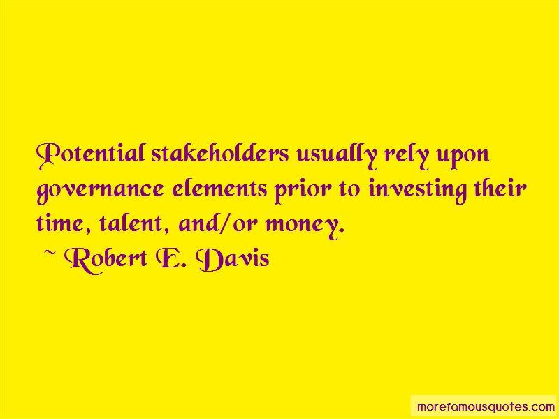 Robert E. Davis Quotes Pictures 2