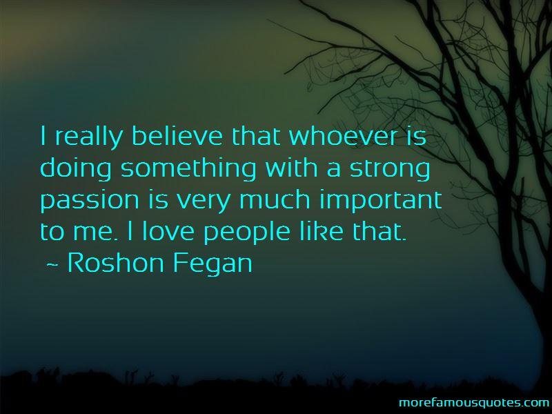 Roshon Fegan Quotes